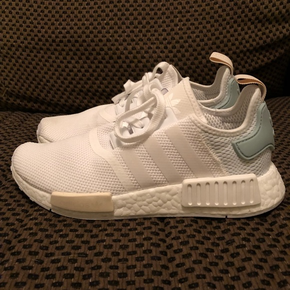 27bef1daf8d438 adidas Shoes - Adidas NMD - Tactile White - Size 8 (women s)